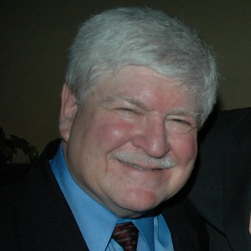 Smiling man in a suit